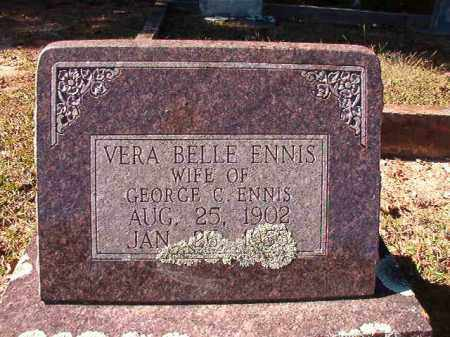 ENNIS, VERA BELLE - Dallas County, Arkansas | VERA BELLE ENNIS - Arkansas Gravestone Photos