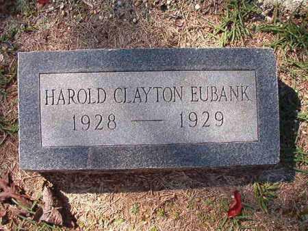 EUBANK, HAROLD CLAYTON - Dallas County, Arkansas | HAROLD CLAYTON EUBANK - Arkansas Gravestone Photos