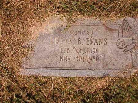 EVANS, LIZZIE B - Dallas County, Arkansas | LIZZIE B EVANS - Arkansas Gravestone Photos