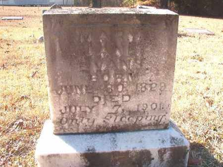 EVANS, MARY JANE - Dallas County, Arkansas   MARY JANE EVANS - Arkansas Gravestone Photos