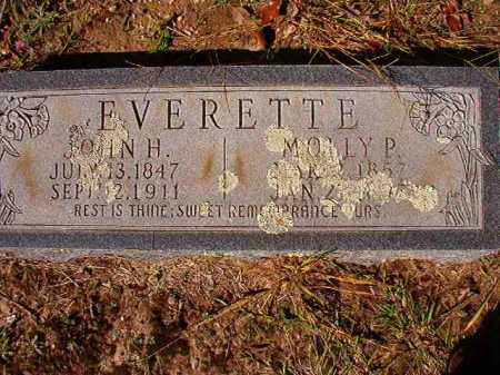 EVERETTE, JOHN H - Dallas County, Arkansas | JOHN H EVERETTE - Arkansas Gravestone Photos