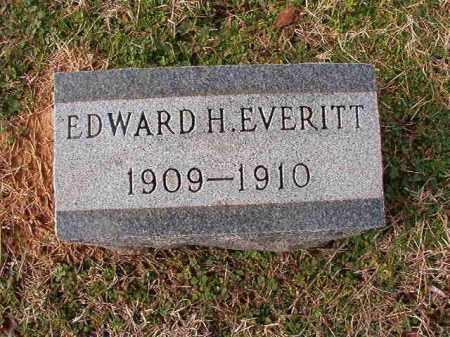 EVERITT, EDWARD H - Dallas County, Arkansas | EDWARD H EVERITT - Arkansas Gravestone Photos