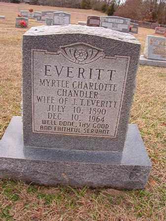 EVERITT, MYRTLE CHARLOTTE - Dallas County, Arkansas | MYRTLE CHARLOTTE EVERITT - Arkansas Gravestone Photos
