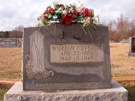 EVERITT, WILLIAM T - Dallas County, Arkansas   WILLIAM T EVERITT - Arkansas Gravestone Photos