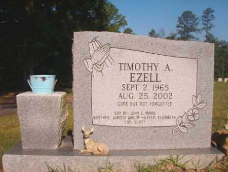 EZELL, TIMOTHY A - Dallas County, Arkansas   TIMOTHY A EZELL - Arkansas Gravestone Photos
