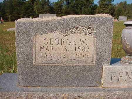 FENISON, GEORGE W - Dallas County, Arkansas | GEORGE W FENISON - Arkansas Gravestone Photos