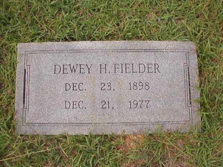 FIELDER, DEWEY H - Dallas County, Arkansas   DEWEY H FIELDER - Arkansas Gravestone Photos