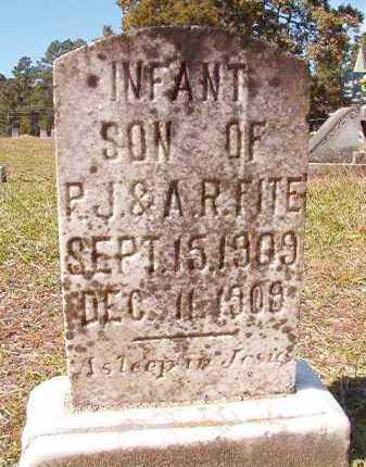 FITE, INFANT SON - Dallas County, Arkansas | INFANT SON FITE - Arkansas Gravestone Photos