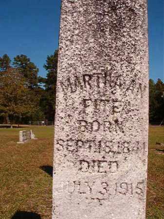 FITE, MARTHA AN - Dallas County, Arkansas | MARTHA AN FITE - Arkansas Gravestone Photos