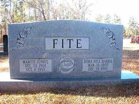 FITE, MARCUS JUNIUS - Dallas County, Arkansas | MARCUS JUNIUS FITE - Arkansas Gravestone Photos