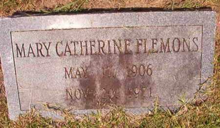 FLEMONS, MARY CATHERINE - Dallas County, Arkansas | MARY CATHERINE FLEMONS - Arkansas Gravestone Photos