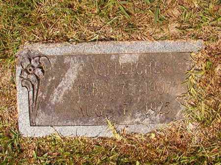 FLETCHER, C V - Dallas County, Arkansas | C V FLETCHER - Arkansas Gravestone Photos