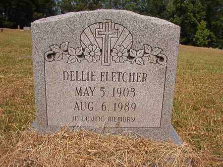 FLETCHER, DELLIE - Dallas County, Arkansas | DELLIE FLETCHER - Arkansas Gravestone Photos