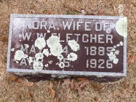 FLETCHER, NORA - Dallas County, Arkansas | NORA FLETCHER - Arkansas Gravestone Photos