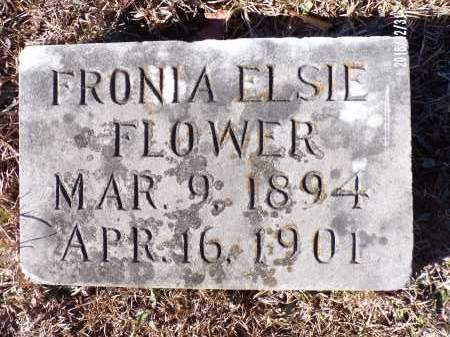 FLOWER, FRONIA ELSIE - Dallas County, Arkansas | FRONIA ELSIE FLOWER - Arkansas Gravestone Photos