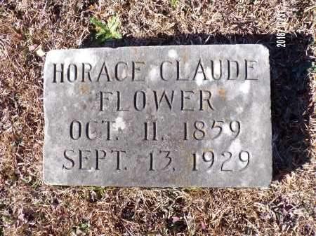 FLOWER, HORACE CLAUDE - Dallas County, Arkansas | HORACE CLAUDE FLOWER - Arkansas Gravestone Photos