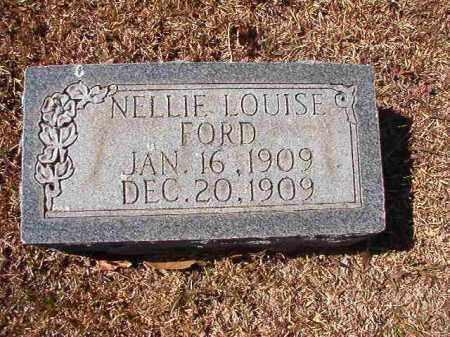FORD, NELLIE LOUISE - Dallas County, Arkansas | NELLIE LOUISE FORD - Arkansas Gravestone Photos