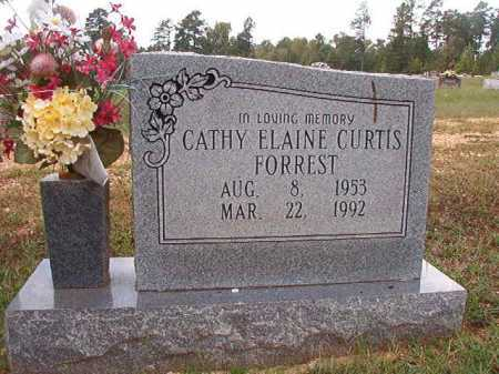 CURTIS FORREST, CATHY ELAINE - Dallas County, Arkansas | CATHY ELAINE CURTIS FORREST - Arkansas Gravestone Photos