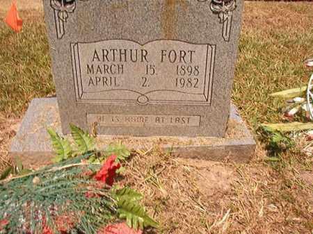 FORT, ARTHUR - Dallas County, Arkansas | ARTHUR FORT - Arkansas Gravestone Photos