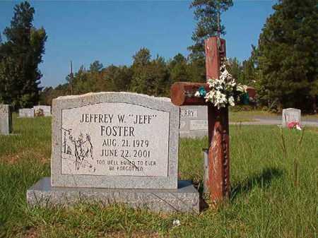 """FOSTER, JEFFREY W """"JEFF"""" - Dallas County, Arkansas   JEFFREY W """"JEFF"""" FOSTER - Arkansas Gravestone Photos"""