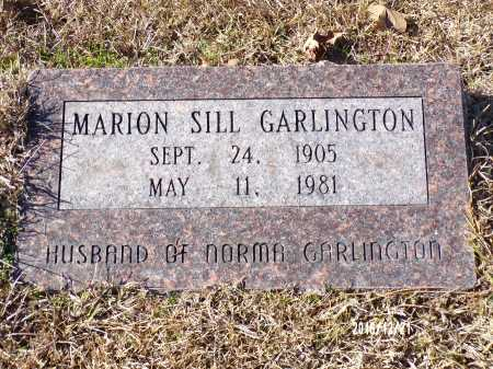 GARLINGTON, MARION SILL - Dallas County, Arkansas | MARION SILL GARLINGTON - Arkansas Gravestone Photos
