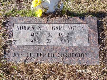 GARLINGTON, NORMA SUE - Dallas County, Arkansas | NORMA SUE GARLINGTON - Arkansas Gravestone Photos