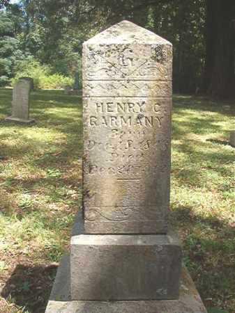 GARMANY, HENRY CLAY - Dallas County, Arkansas | HENRY CLAY GARMANY - Arkansas Gravestone Photos