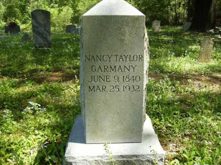 GARMANY, NANCY EVELINE - Dallas County, Arkansas | NANCY EVELINE GARMANY - Arkansas Gravestone Photos