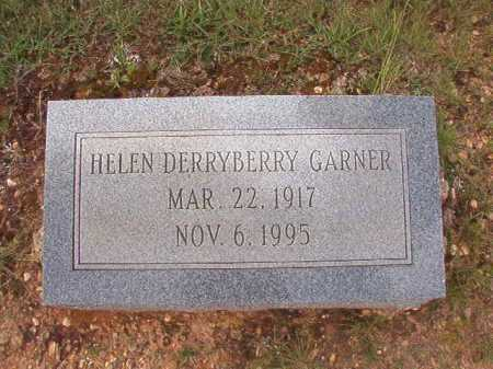 DERRYBERRY GARNER, HELEN - Dallas County, Arkansas | HELEN DERRYBERRY GARNER - Arkansas Gravestone Photos