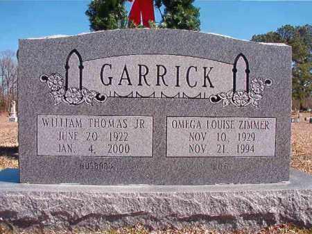 GARRICK, OMEGA LOUISE - Dallas County, Arkansas | OMEGA LOUISE GARRICK - Arkansas Gravestone Photos