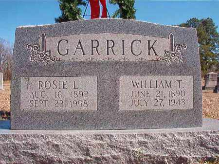 GARRICK, ROSIE L - Dallas County, Arkansas | ROSIE L GARRICK - Arkansas Gravestone Photos