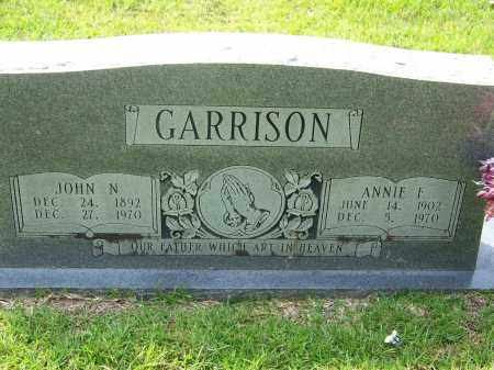 GARRISON, ANNIE E - Dallas County, Arkansas | ANNIE E GARRISON - Arkansas Gravestone Photos