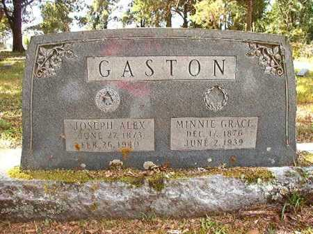 GASTON, JOSEPH ALEX - Dallas County, Arkansas | JOSEPH ALEX GASTON - Arkansas Gravestone Photos