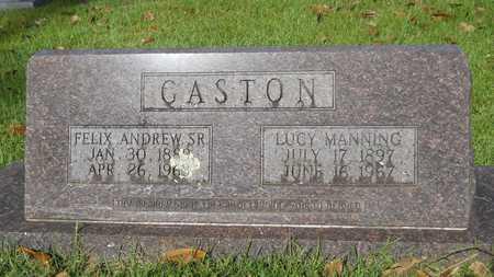 GASTON, SR, FELIX ANDREW - Dallas County, Arkansas | FELIX ANDREW GASTON, SR - Arkansas Gravestone Photos