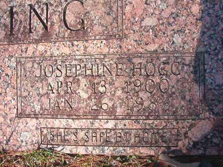 HOGG GATLING, JOSEPHINE - Dallas County, Arkansas   JOSEPHINE HOGG GATLING - Arkansas Gravestone Photos