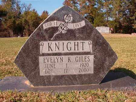 GILES, EVELYN - Dallas County, Arkansas | EVELYN GILES - Arkansas Gravestone Photos