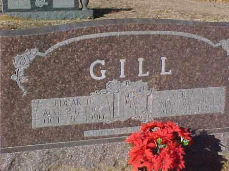 GILL, EDGAR HARRIS - Dallas County, Arkansas | EDGAR HARRIS GILL - Arkansas Gravestone Photos