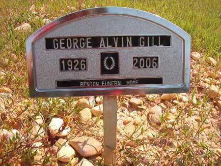 GILL, GEORGE ALVIN - Dallas County, Arkansas | GEORGE ALVIN GILL - Arkansas Gravestone Photos
