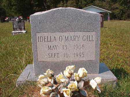 O'MARY GILL, IDELLA - Dallas County, Arkansas | IDELLA O'MARY GILL - Arkansas Gravestone Photos