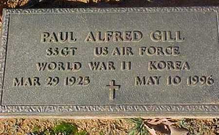 GILL (VETERAN 2 WARS), PAUL ALFRED - Dallas County, Arkansas   PAUL ALFRED GILL (VETERAN 2 WARS) - Arkansas Gravestone Photos