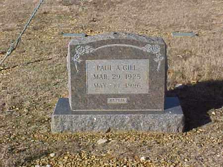 GILL, PAUL ALFRED - Dallas County, Arkansas | PAUL ALFRED GILL - Arkansas Gravestone Photos