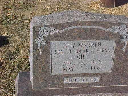 GILL, ROY WARREN - Dallas County, Arkansas | ROY WARREN GILL - Arkansas Gravestone Photos
