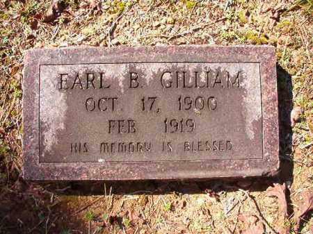 GILLIAM, EARL B - Dallas County, Arkansas   EARL B GILLIAM - Arkansas Gravestone Photos