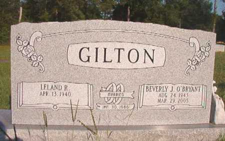 O'BRYANT GILTON, BEVERLY J - Dallas County, Arkansas | BEVERLY J O'BRYANT GILTON - Arkansas Gravestone Photos