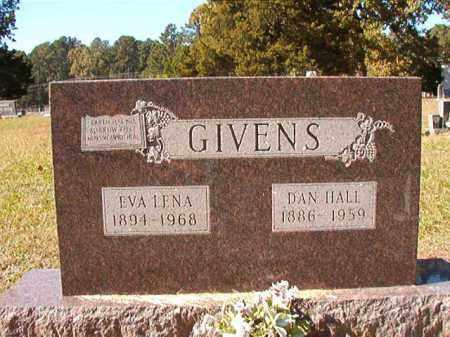 GIVENS, EVA LENA - Dallas County, Arkansas | EVA LENA GIVENS - Arkansas Gravestone Photos