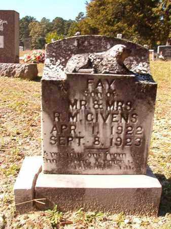 GIVENS, FAY - Dallas County, Arkansas   FAY GIVENS - Arkansas Gravestone Photos