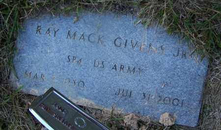 GIVENS, JR (VETERAN), RAY MACK - Dallas County, Arkansas | RAY MACK GIVENS, JR (VETERAN) - Arkansas Gravestone Photos