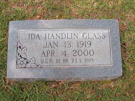 HANDLIN GLASS, IDA - Dallas County, Arkansas | IDA HANDLIN GLASS - Arkansas Gravestone Photos