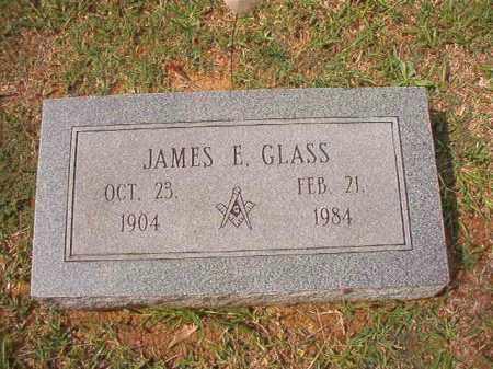 GLASS, JAMES E - Dallas County, Arkansas | JAMES E GLASS - Arkansas Gravestone Photos