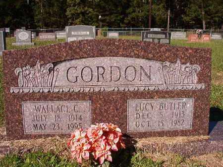 GORDON, WALLACE C - Dallas County, Arkansas | WALLACE C GORDON - Arkansas Gravestone Photos